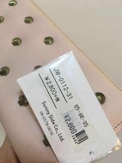 🚚 (日貨)粉色長夾