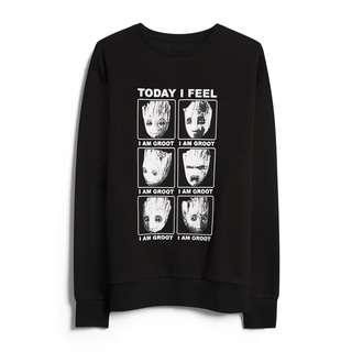 Black Groot Sweatshirt