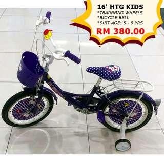 HTG Kids Bicycle 16-5