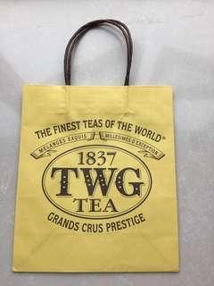 TWG 名牌紙袋 paperbag