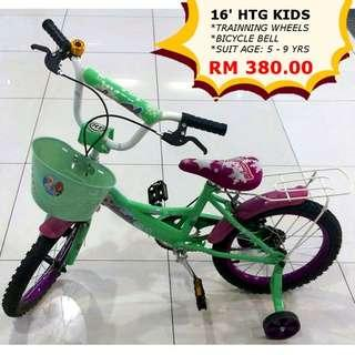 HTG Kids Bicycle 16-3