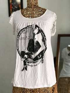 BODY AND SOUL white tank tops