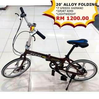 HTG Alloy Folding Bicycle