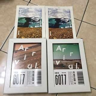WTS GOT7 NEVER EVER UNSEALED ALBUM