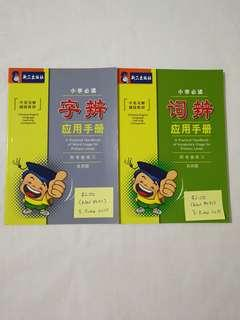 Primary 4 to 6 Chinese Assessment Books Word Usage Vocabulary Usage Chinese Phrases for Primary Levels