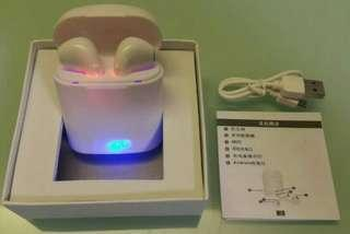超扺價……i7S TWS 藍芽無線耳機一對,白色