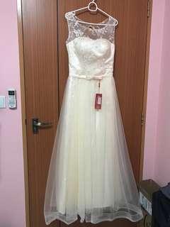 🚚 Champagne Prom Dress
