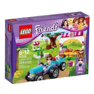 Lego Friends 41026 - Sunshine Harvest Sealed new