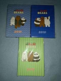 We Bare Bears 2019 Planner