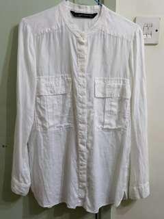ZARA 麻質襯衫 Linen shirt