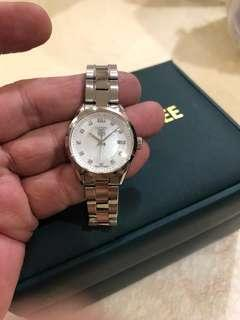 Tag Heuer Carrera Ladies Watch With MOP & Real Sparkling Diamonds