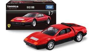 全新日版 Tomy Tomica Premium 17 Ferrari 512BB 法拉利 紅色 聖誕禮物 Xmas Gift