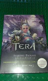 日版電腦Game -- TERA (全新未開封)