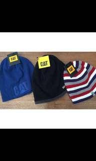 3 X Caterpillar (CAT) Beanies - BUNDLE