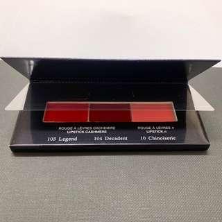 全新 Cdp lipstick sample cle de peau 外盒破損,介意勿拍 103 legend 104 Decadent 10 Chinoiserie
