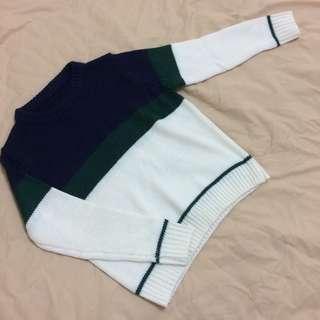 🚚 全新 條紋針織毛衣