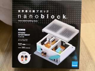 罕有 Nano Block studio apartment 迷你積木 architect