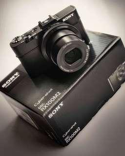 Sony Cyber-Shot DSC-RX100M2 RX100 ii Full Set Digital Camera