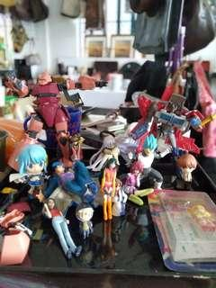 Take all toy collectibles for 3,500 pesos only