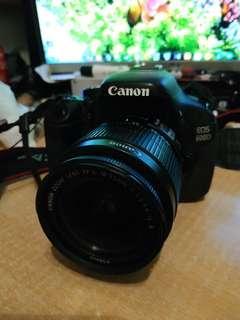 行貨 9成新Canon 600d  18-55 kit 油塘交收