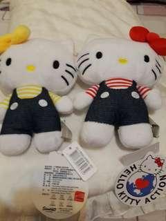 《AQ+》KITTY 玩偶小背包 ×2