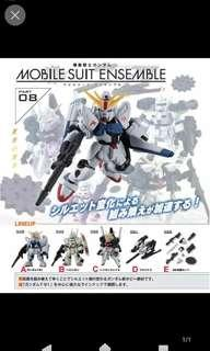 Bandai Mobile Suit Ensemble Part 08 扭蛋 盒蛋  高達 模型 F91