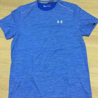 Under Armour men's blus Coolswitch T-shirt size L - new
