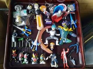 Take all anime figures for 3,500 php only