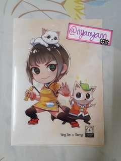 [WTS Only] Yingtze × Remy Manga Art Folder (Clazroom College)