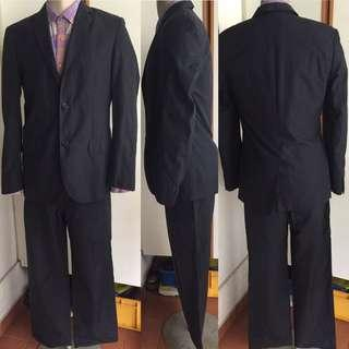 Marc Jacobs 2-Button Jacket Blazer/Suit Coat Sz 50 Pin-St