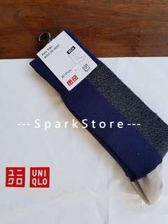 Uniqlo Kaos Kaki Regular Socks Block Navy