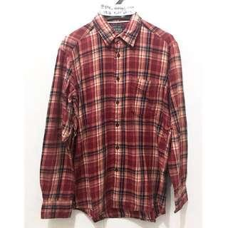 Kemeja Flannel Uniqlo not Fred Perry Flanel Ben Sherman Bape