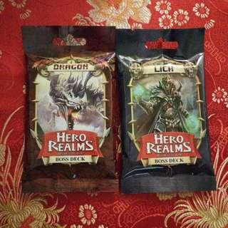 Hero Realms Boss Deck