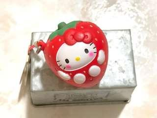Non-Repro Hello Kitty Strawberry Squishy