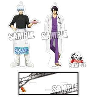 [PO] Gintama Actor Ver. Acrylic Stand Set