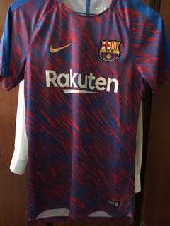 巴塞17/18賽前熱身球衣 Fcbarcelona 17/18 prematch training shirt