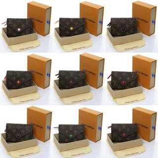 LOUIS VUITTON Monogram Victorine Short Wallet With Box*