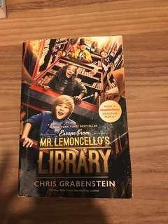 Escape from Mr. Lemoncello' s library