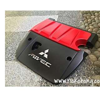 CUSTOM ENGINE COVER MITSUBISHI LANCER EX 2000cc EVOLUTION X STYLE OEM REPLACEMENT (EX 1.5 CANNOT USE)