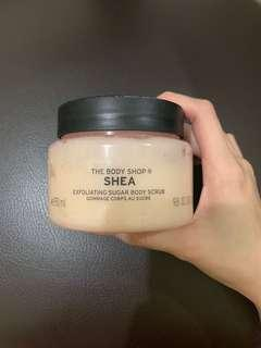 The Body Shop shea butter body scrub