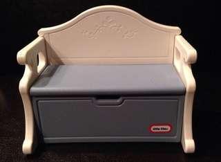 Vintage Little Tikes Victorian Bench