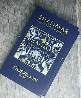 Vial Parfum Shalimar Souffle Intense Guerlain For Women EDP