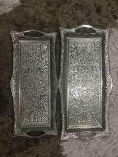 Sena Silver Trays