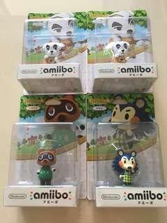 BNIB Nintendo Animal Crossing Amiibo