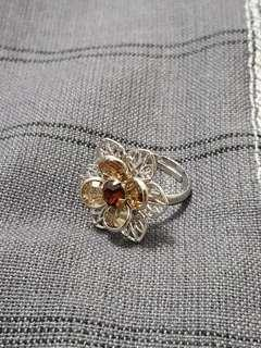 Swaorovski crystal ring