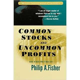 Brand New - Common Stocks and Uncommon Profits and Other Writings - Paperback