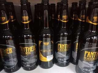 Bir Hitam - Panther Stout Beer