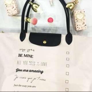 93fe05a55a Brand new Pink Valentine Lobe Be mine Longchamp Bag