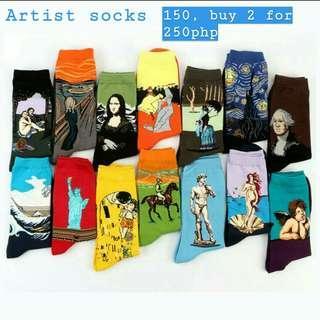 Artist iconic socks