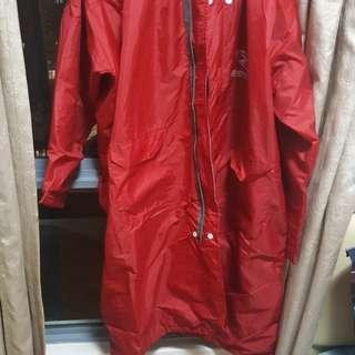 Brand new Hot Red Raincoat for sale